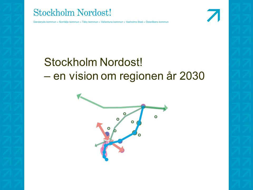 Stockholm Nordost! – en vision om regionen år 2030