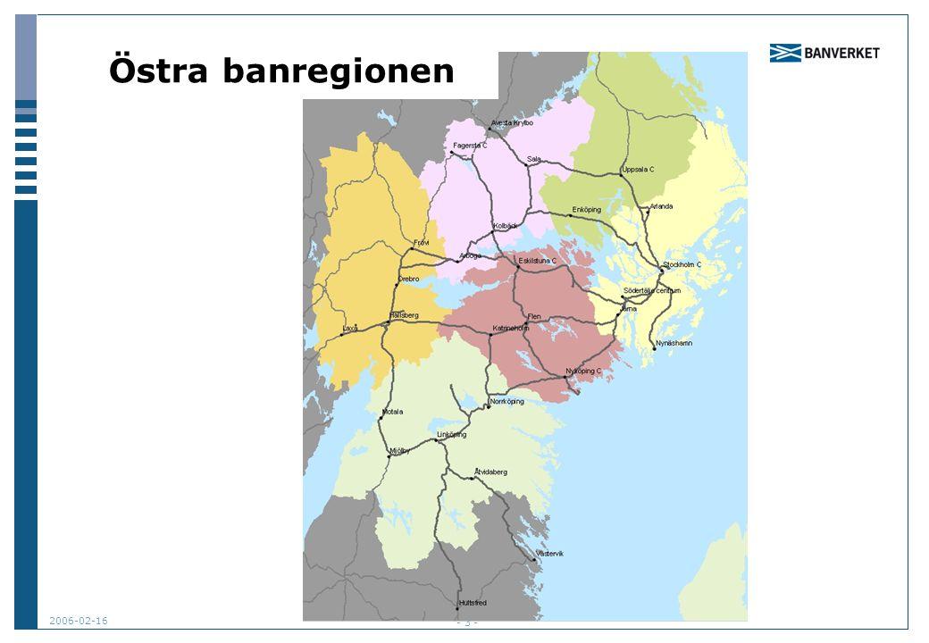 2006-02-16 - 3 - Östra banregionen
