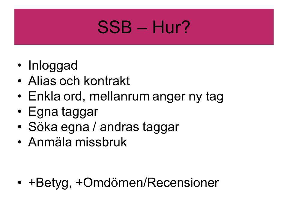 SSB – Hur.