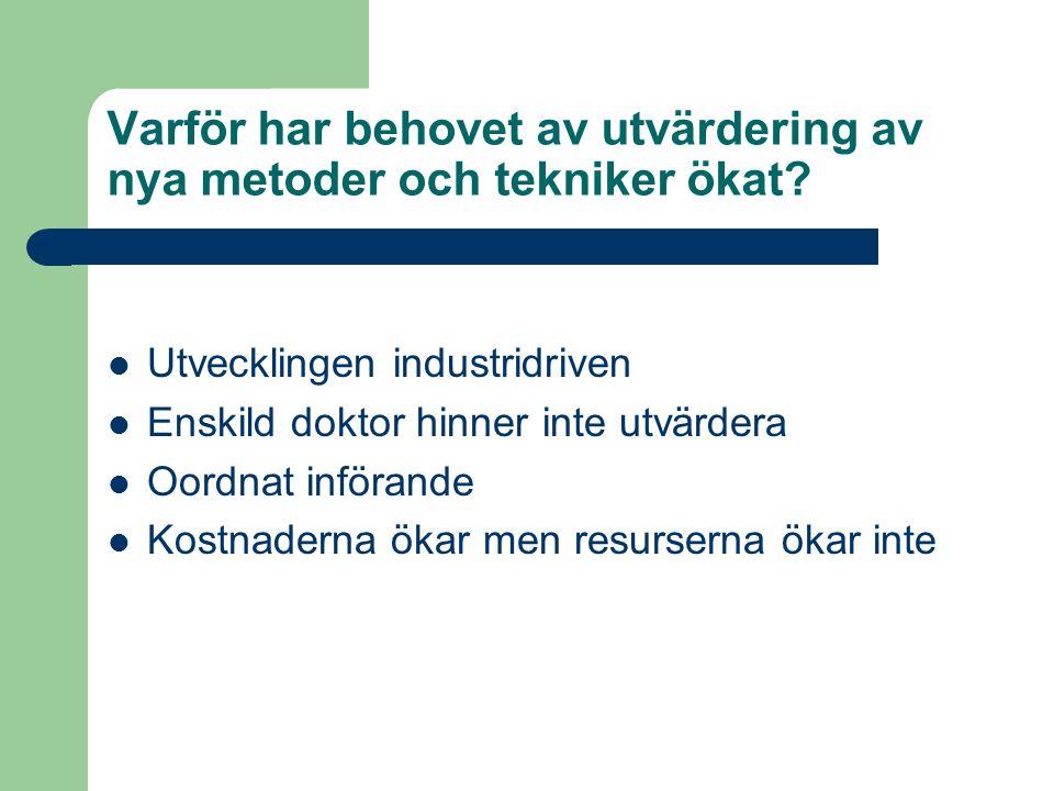 Lennart Jivegård Hur införs nya metoder IDAG.