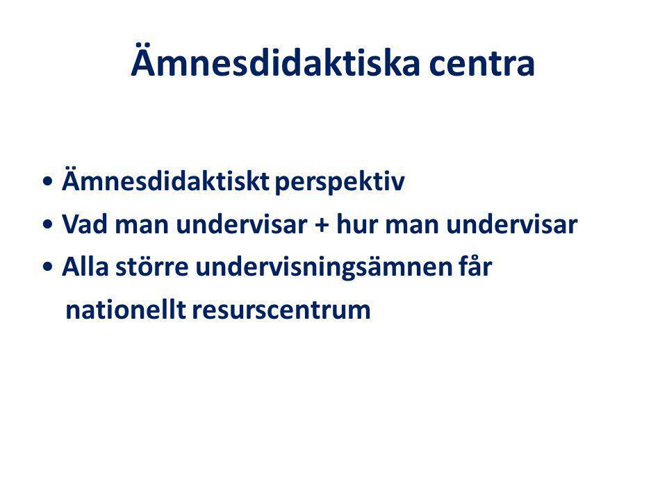 Genomförande Kort förberedelsetid Inventeringsarbete på universitet och högskolor Inget antagningsstopp Ny utbildning startar våren 2011