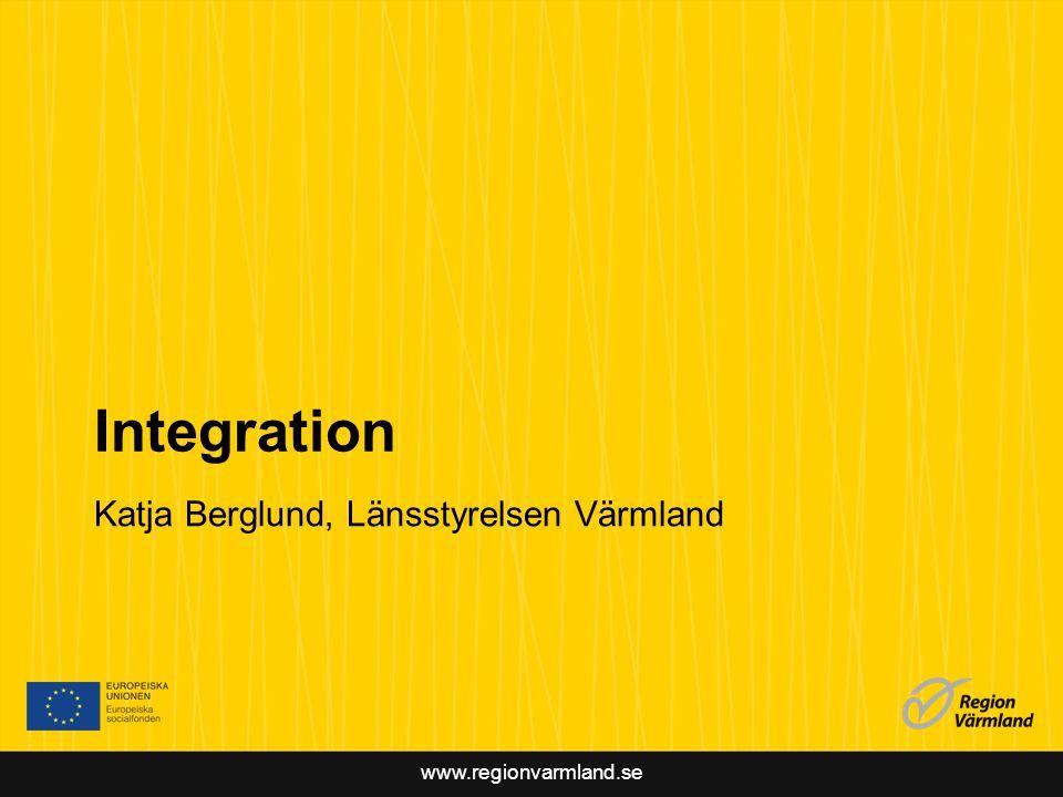 www.regionvarmland.se Jämställdhet Marianne Nilsson, Region Värmland