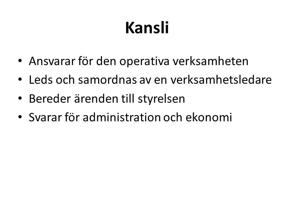 Kansliets anställda Anneli Backman verksamhetsledare Ann Gripenlöf