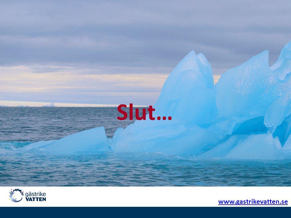 Slut… www.gastrikevatten.se