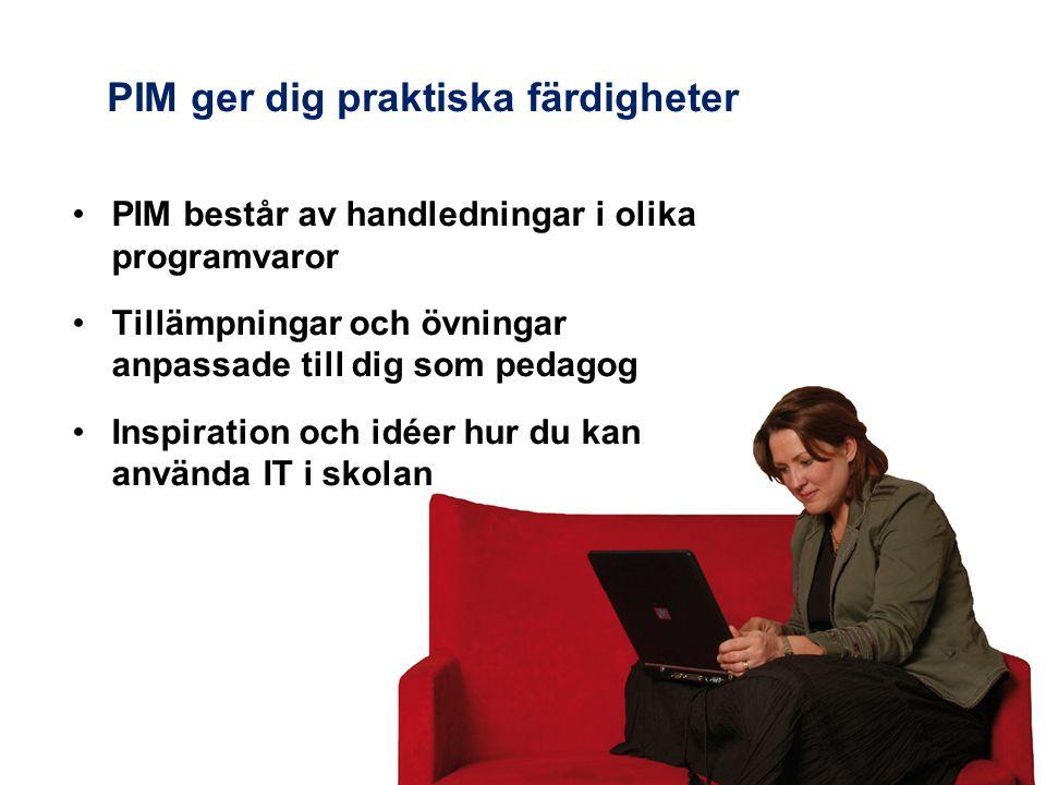 Programvaror i PIM
