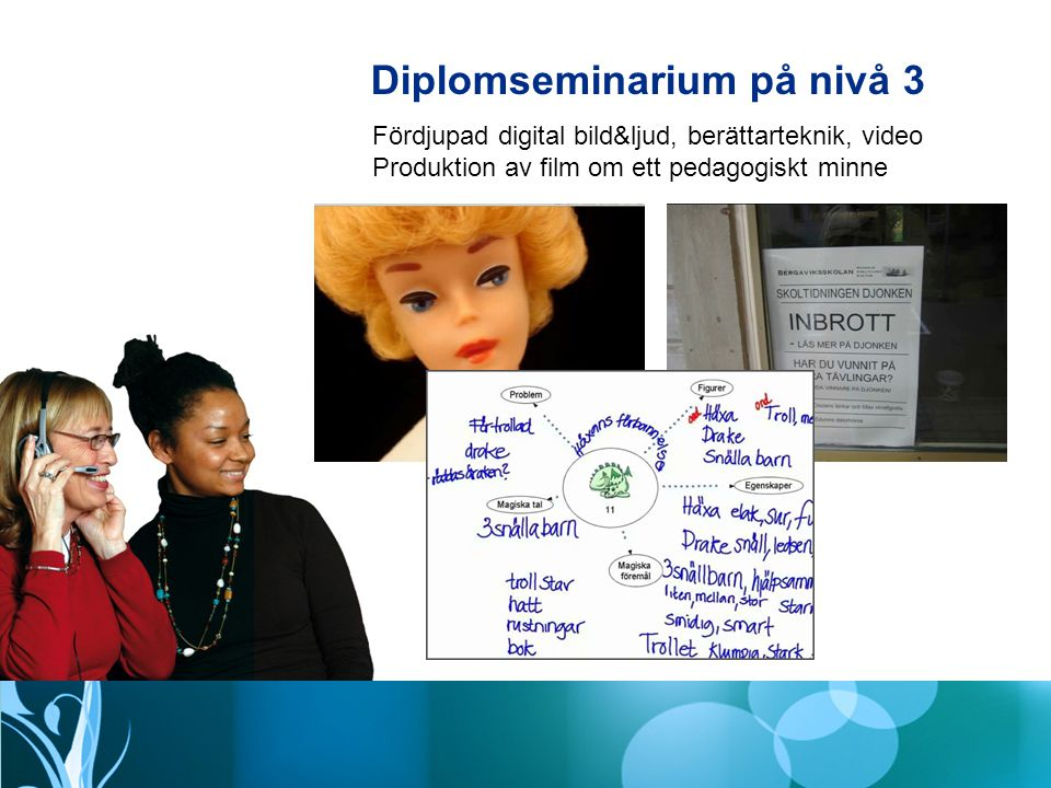 Datum för diplomseminarium - PIM-uppgifter klara en vecka innan 1.