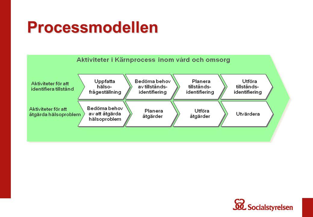 Generisk Begreppsmodell beskrivs med hjälp av (kompletterar beskrivningen av) Generisk processmodell