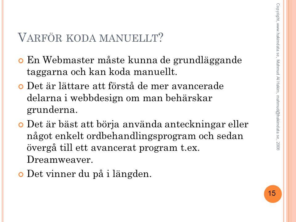 15 V ARFÖR KODA MANUELLT .