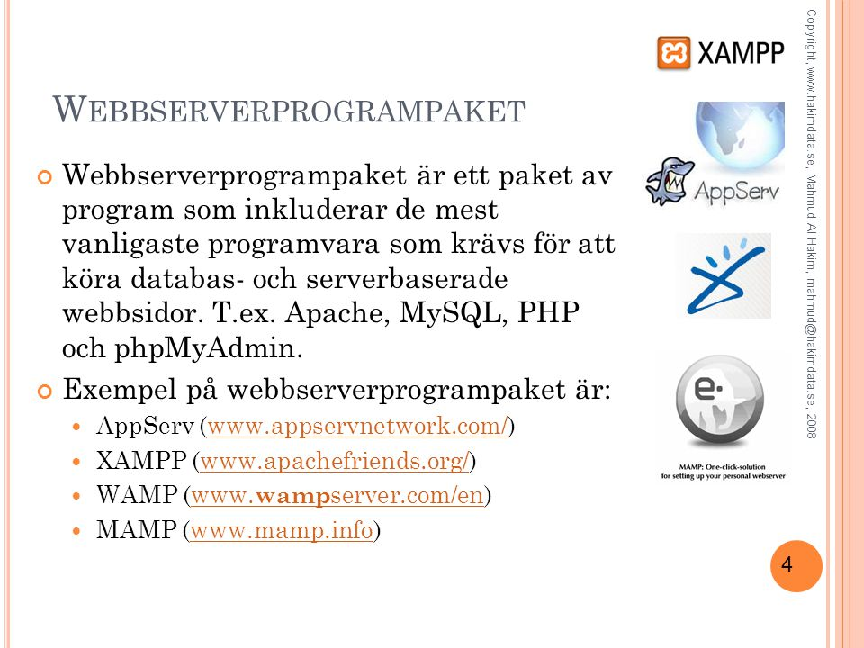 15 PHP Funktioner En funktion är ett antal instruktioner som utför en sak t.ex.