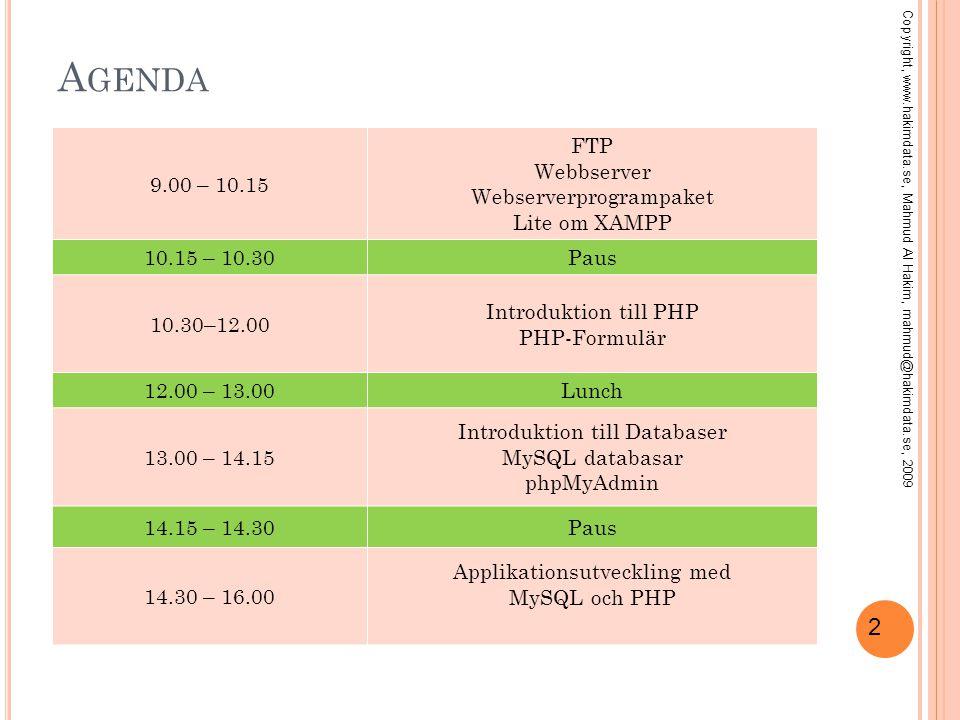 3 F ILÖVERFÖRING MED FTP FTP (File Transfer Protocol) Ett av de tidigaste populära filöverföringsprotokollen för Internet.