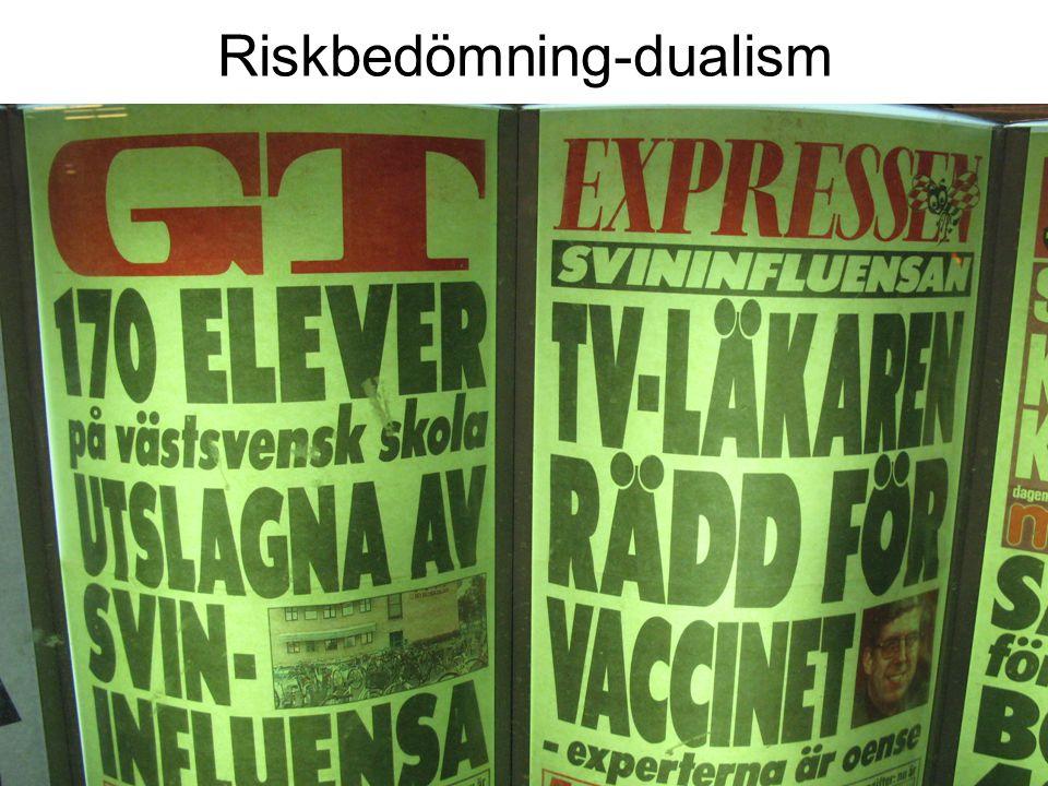 Riskbedömning-dualism