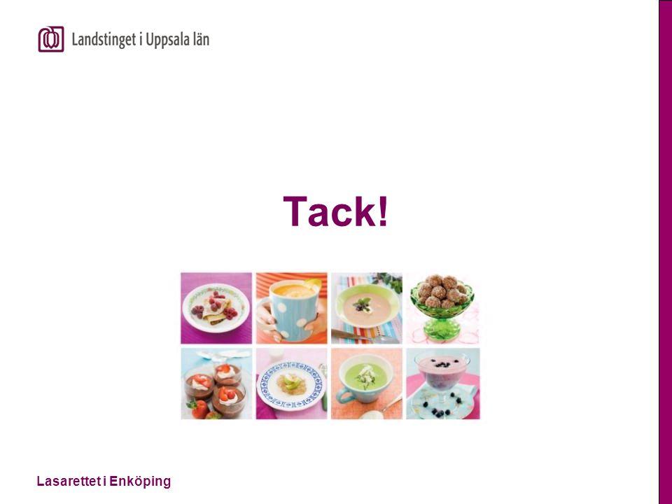 Lägg till text genom att klicka Lasarettet i Enköping Tack!