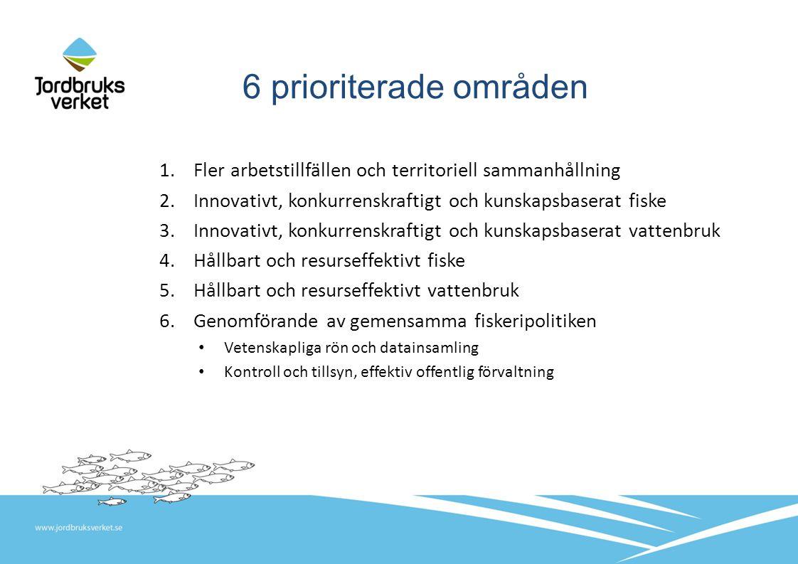 Åtgärder med särskilt avsatta pengar Datainsamling KOM styr vad och beslutar plan Kontroll och tillsyn av fiske KOM styr vad och beslutar plan Lagring av fisk Vill vi egentligen inte ha