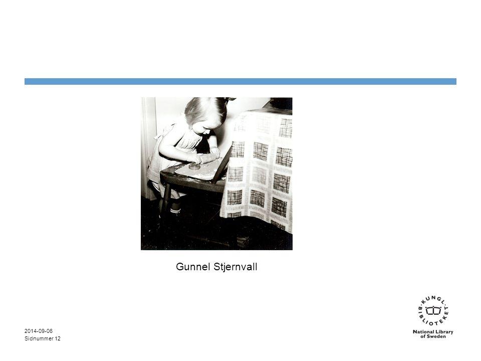 Sidnummer 2014-09-06 12 Gunnel Stjernvall