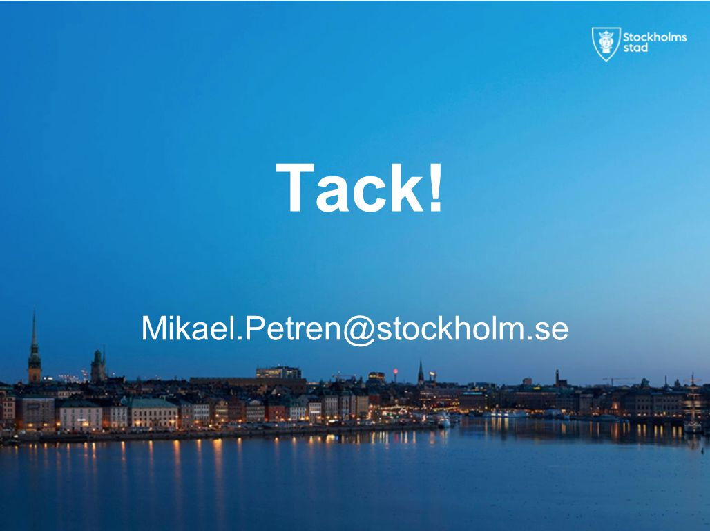 Tack! Mikael.Petren@stockholm.se