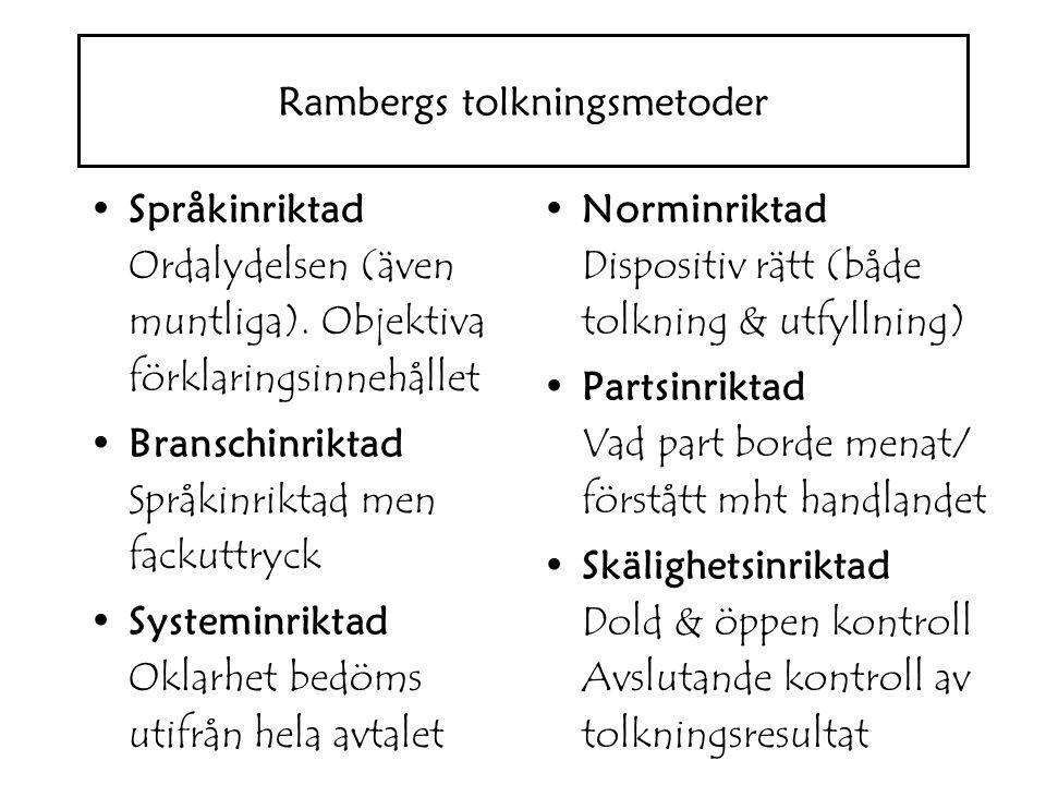 Språkinriktad Ordalydelsen (även muntliga).