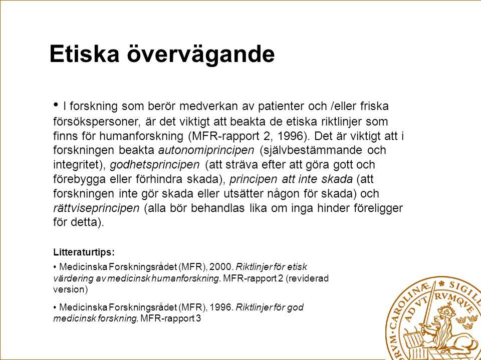 Finansiering Arbetsgivaren, Kommunen(?) Vårdförbundet, Svensk Sjuksköterskeförening, MSS- föreningen (Malmö), SSSH (Lund) Olika typer av riksföreningar t.ex.