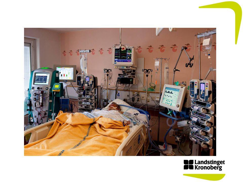 Akut omhändertagande vid sepsis Läkemedelskommittén inbjuder till interaktiv utbildning Målgrupp: läkare och sjuksköterskor på sjukhusen 850 personer utbildades drygt 60% av alla läkare & sjuksköterskor på sjukhusen