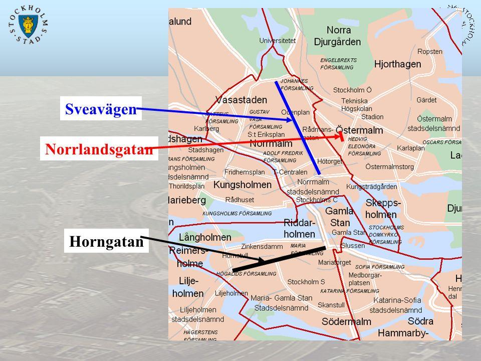 Horngatan Norrlandsgatan Sveavägen