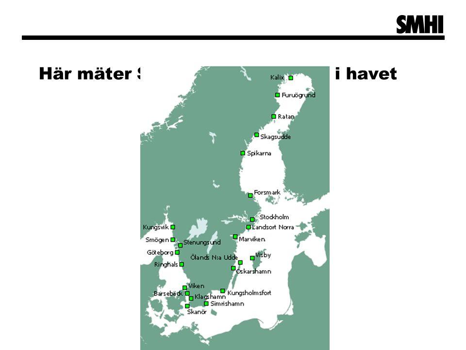 Här mäter SMHI vattennivåerna i havet