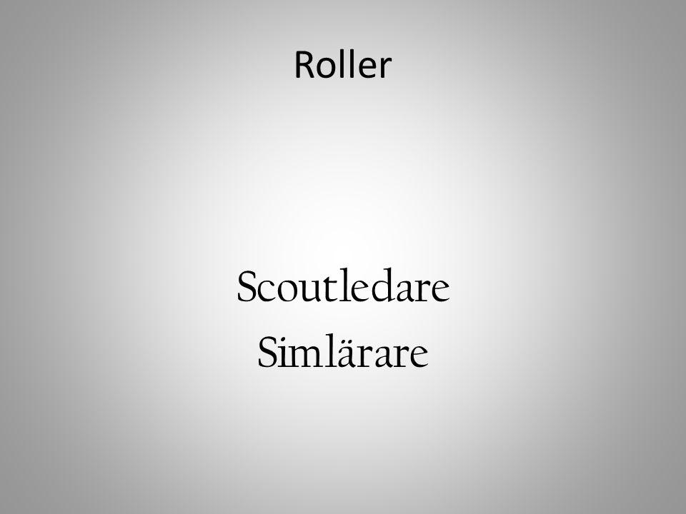 Roller Scoutledare Simlärare