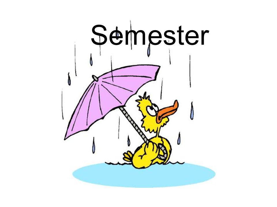 Semesterlag Semester