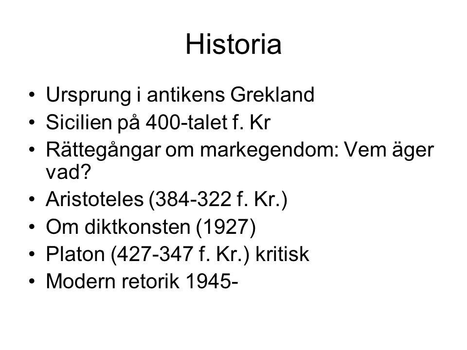 Historia Ursprung i antikens Grekland Sicilien på 400-talet f.