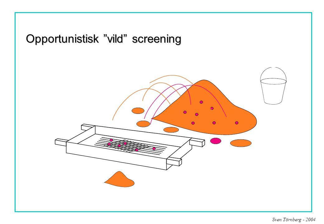 """Sven Törnberg - 2004 Opportunistisk """"vild"""" screening"""