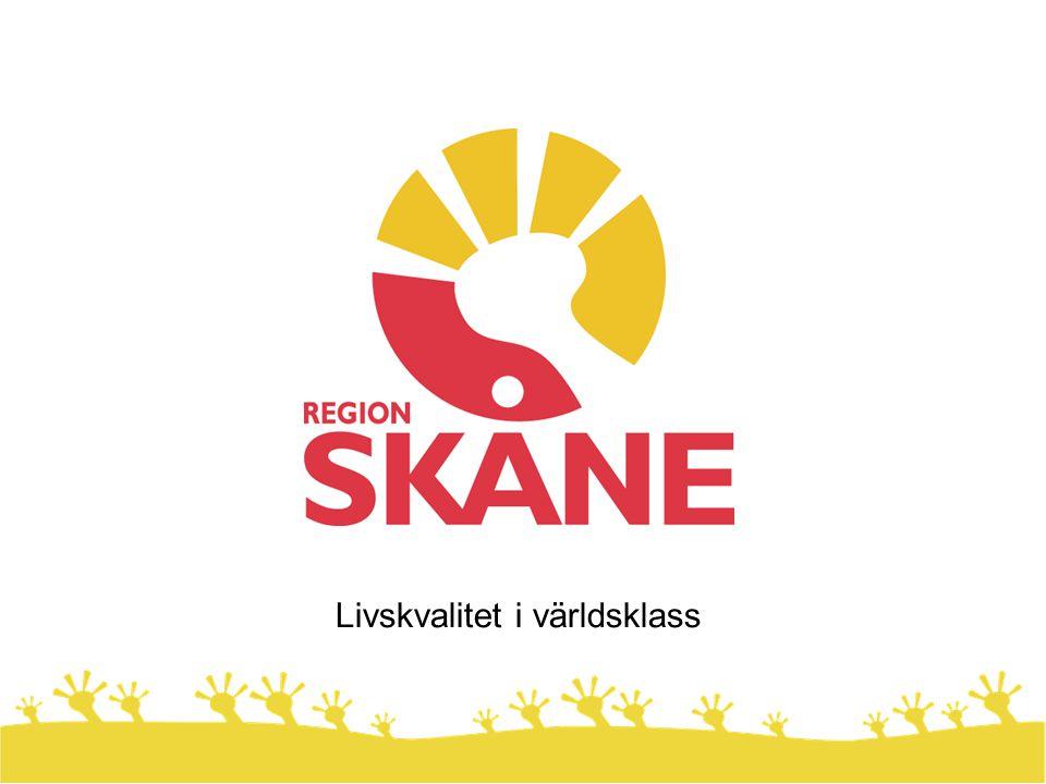 Region Skåne är en politiskt styrd organisation.