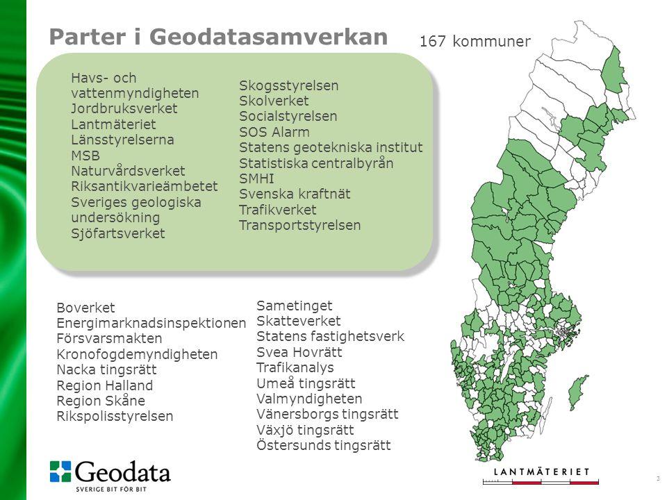 3 Havs- och vattenmyndigheten Jordbruksverket Lantmäteriet Länsstyrelserna MSB Naturvårdsverket Riksantikvarieämbetet Sveriges geologiska undersökning