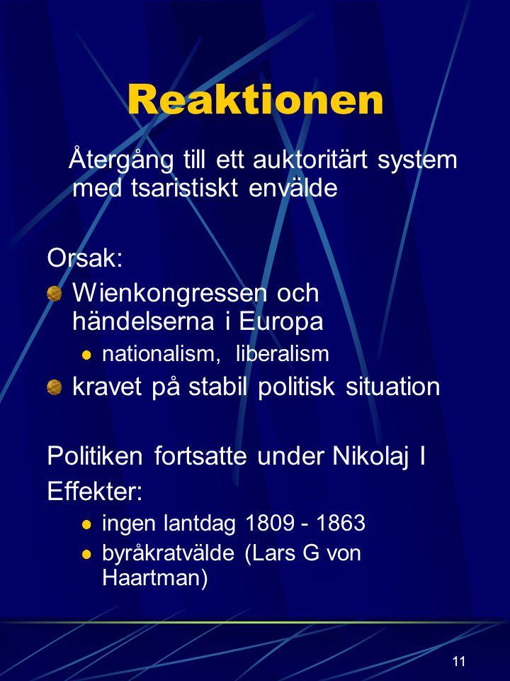 """10 Ändringar Helsingfors görs till huvudstad 1812 Åbo påverkat från Sverige H:fors närmare Petersburg 1812 anslöts """"Gamla Finland"""" till Finland 1827 f"""