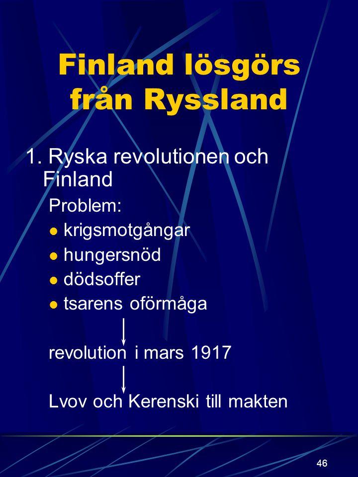 45 Motståndet lantdagen protesterade och upplöstes årligen ämbetsmän vägrade och avsattes, förvisades aktivisterna mål : lösgöra Finland från Ryssland