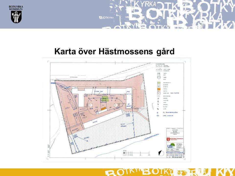 Karta över Hästmossens gård