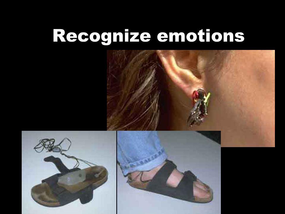 Recognize emotions