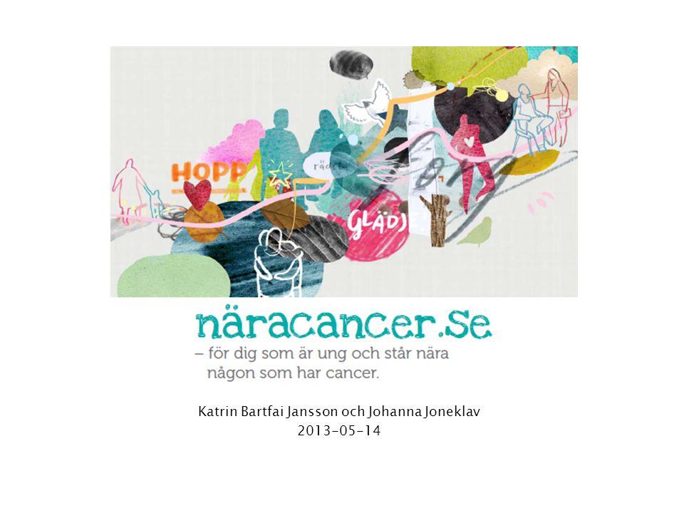 Katrin Bartfai Jansson och Johanna Joneklav 2013-05-14