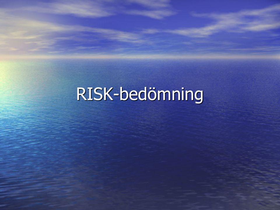 RISK-bedömning