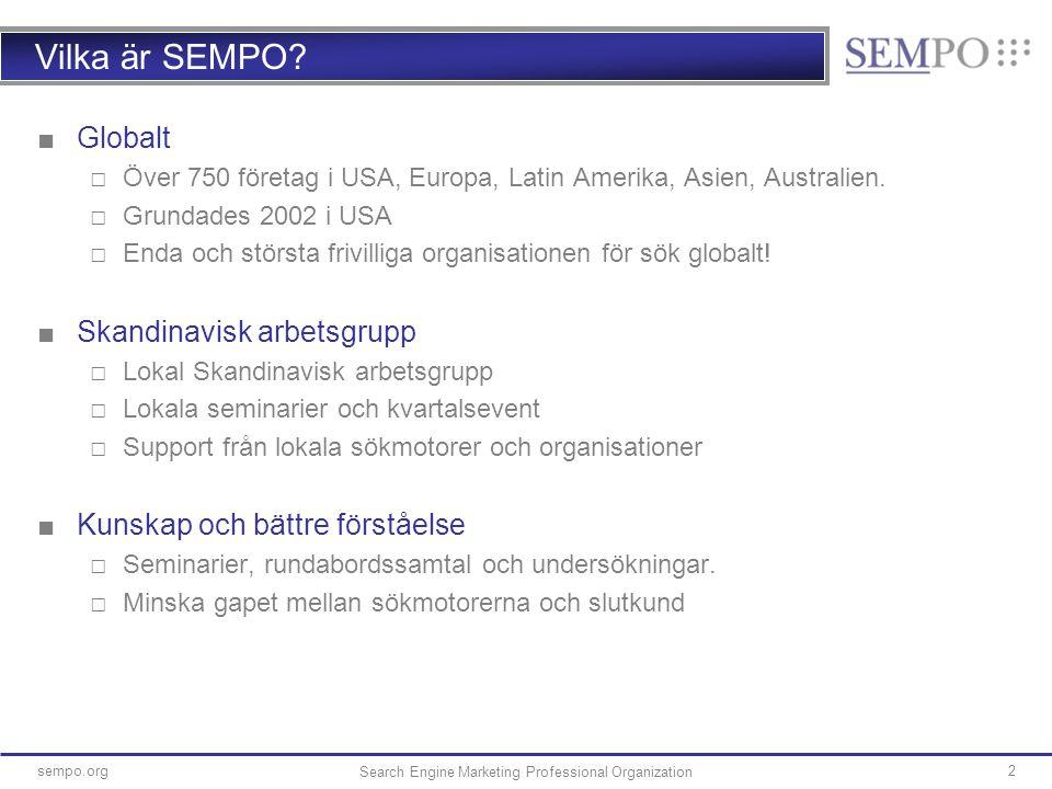 13sempo.org 13 Yahoo's utökade sökresultat