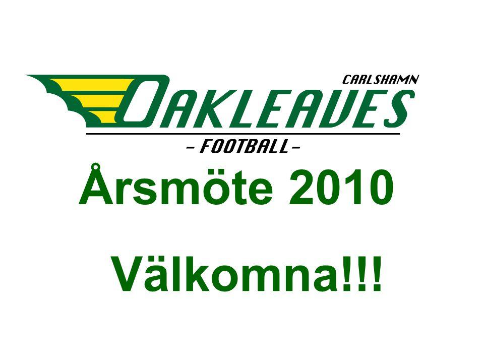 Årsmöte 2010 Välkomna!!!