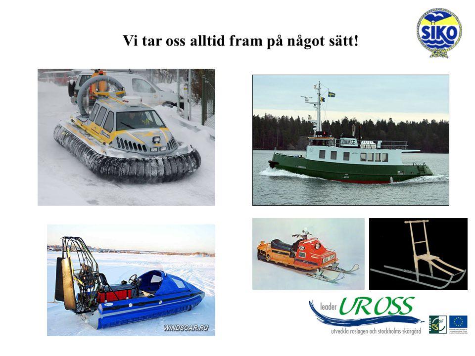 Målsättning Inspiration till SIKO:s föreningar att kunna påverka sin vintertrafik.