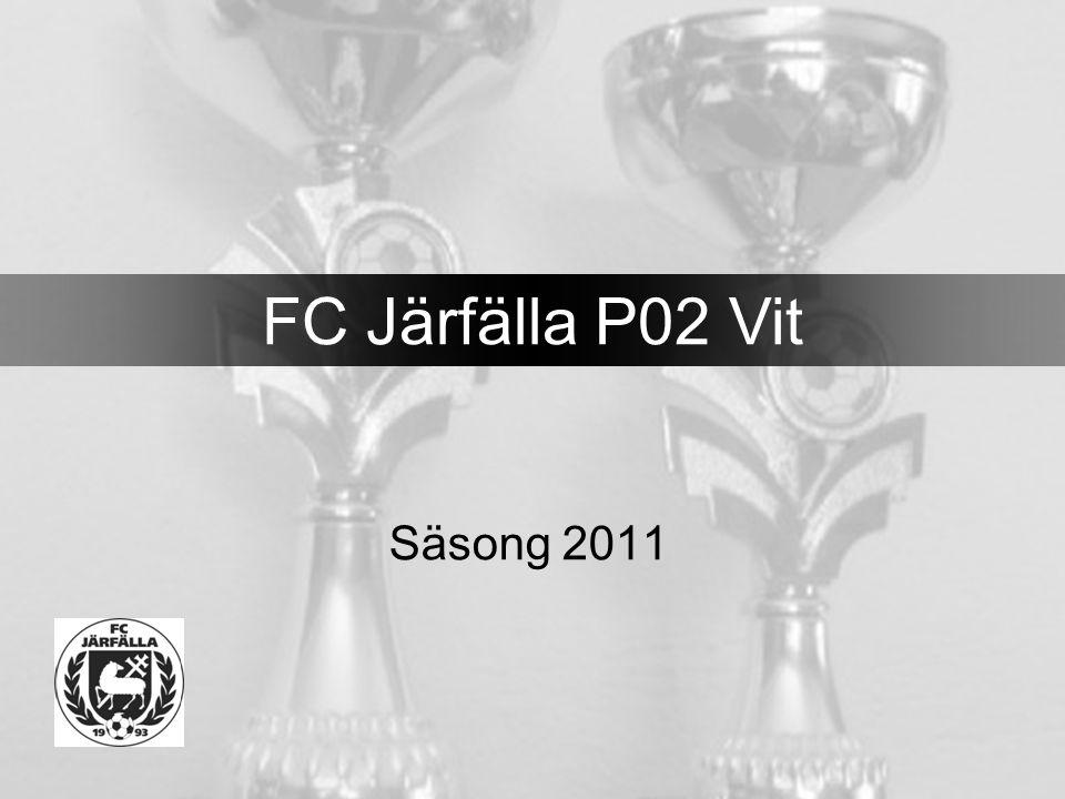 Säsong 2011 FC Järfälla P02 Vit