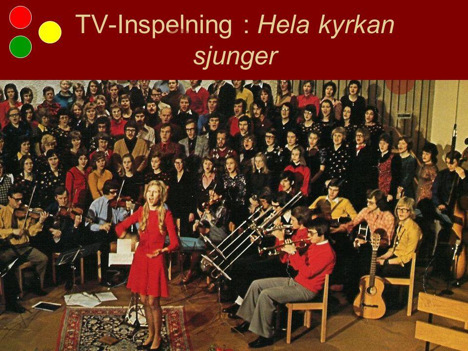 TV-Inspelning : Hela kyrkan sjunger