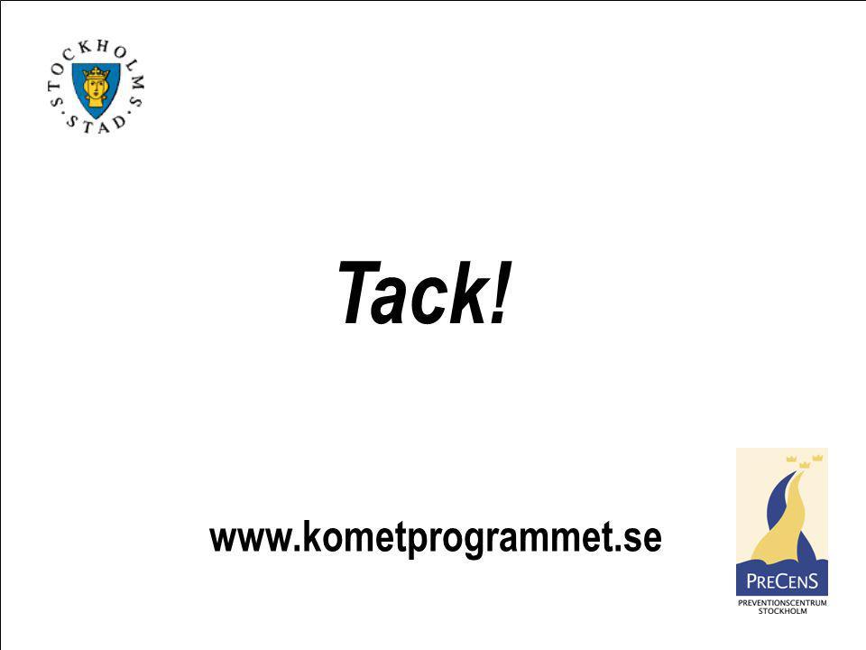 www.kometprogrammet.se Tack!