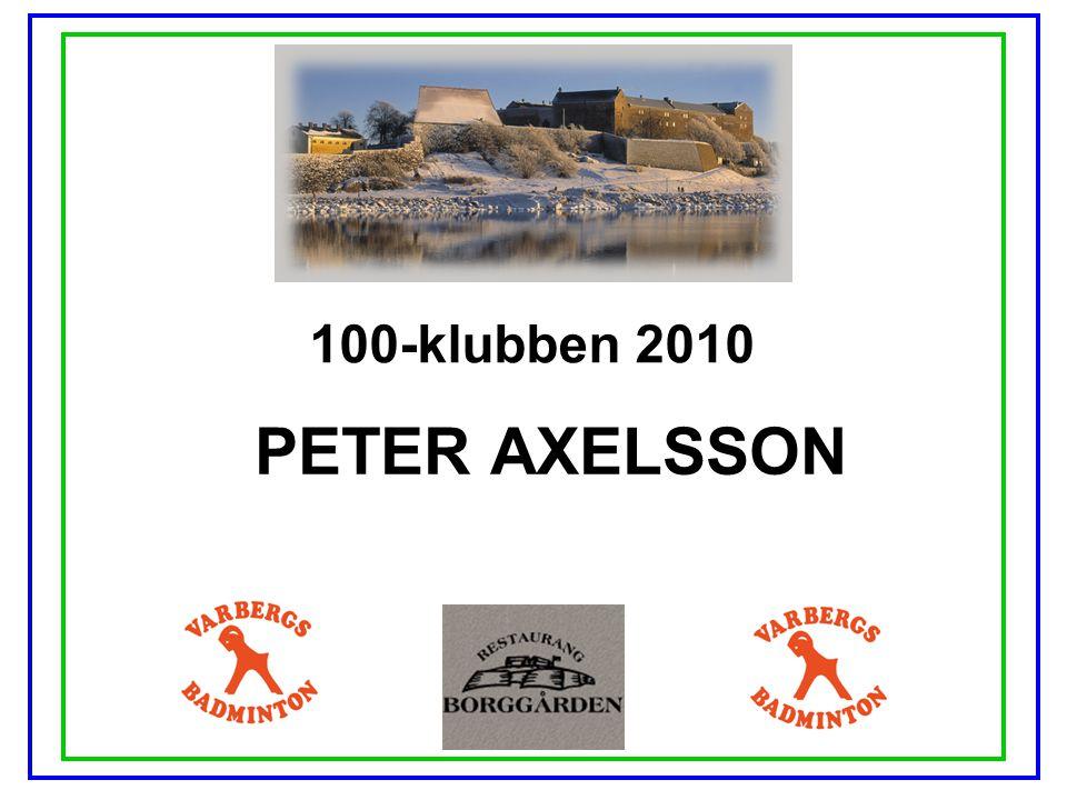 100-klubben 2010 PETER AXELSSON