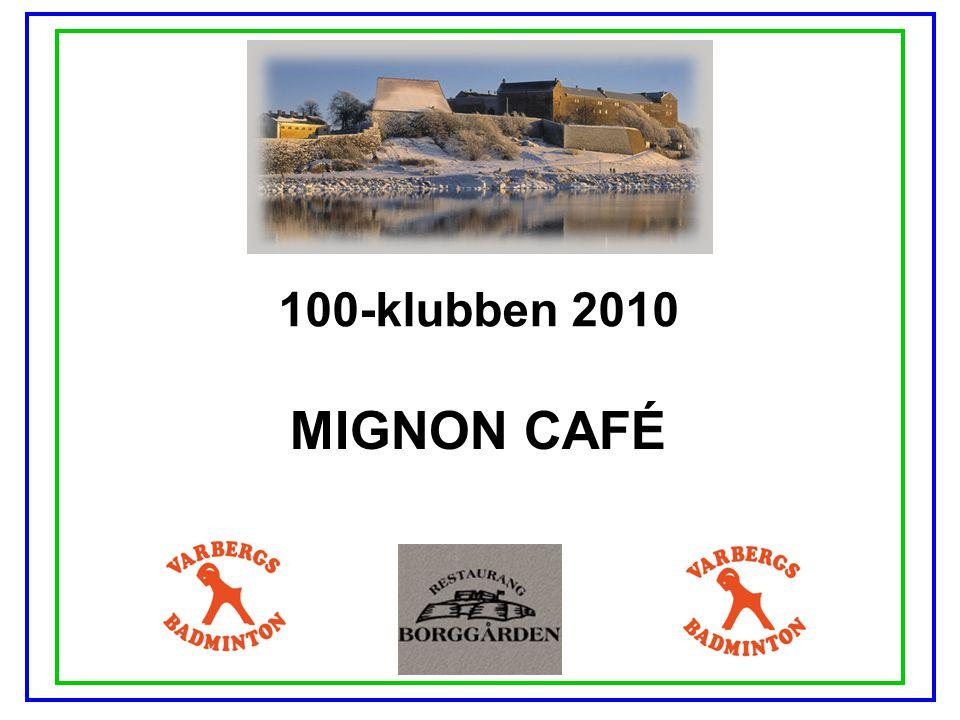 100-klubben 2010 HANS DUVINGER TANDLÄKARPRAKTIK AB