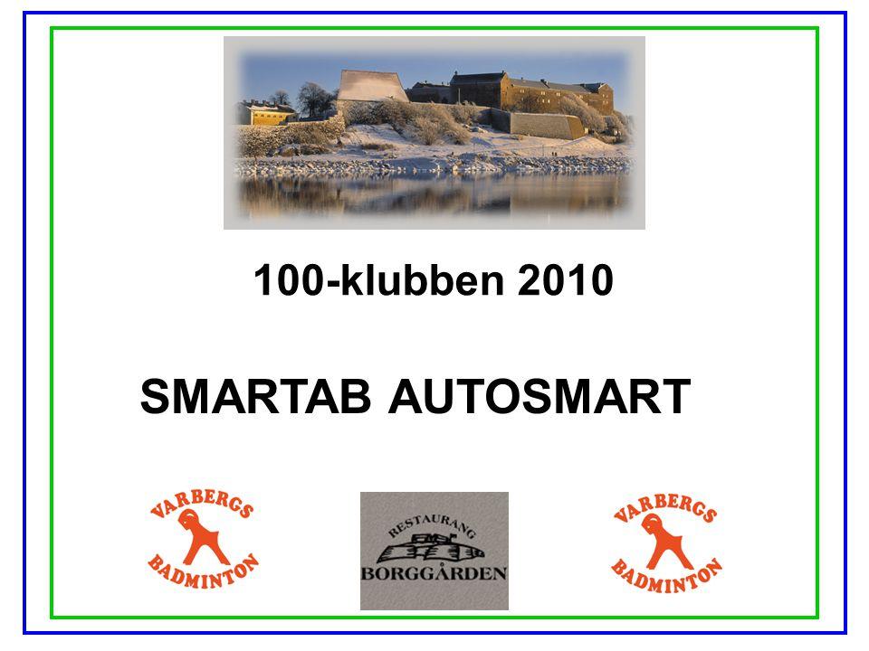 100-klubben 2010 SMARTAB AUTOSMART