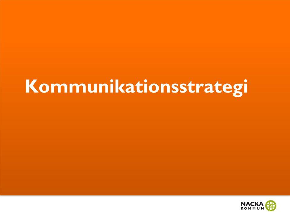 3. Utvärdering Att alltid utvärdera aktiviteter utifrån de strategiska målen