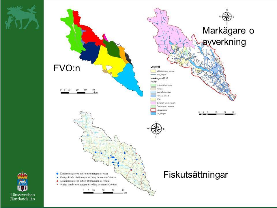 FVO:n Fiskutsättningar Markägare o avverkning