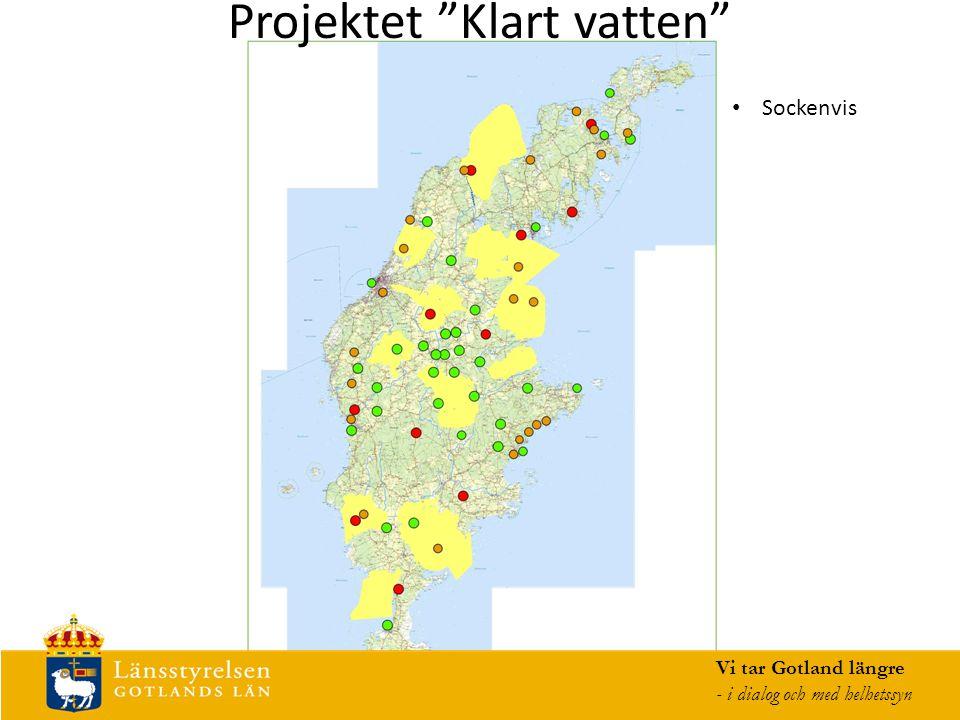 Projektet Klart vatten Vi tar Gotland längre - i dialog och med helhetssyn Sockenvis