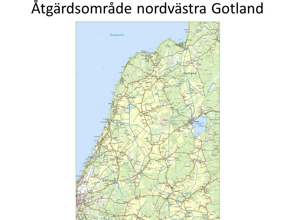 Åtgärdsområde nordvästra Gotland