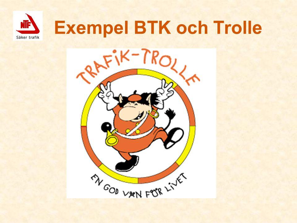 Exempel BTK och Trolle